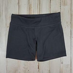 Champion C9 Girls Athletic Shorts M 7-8 Black